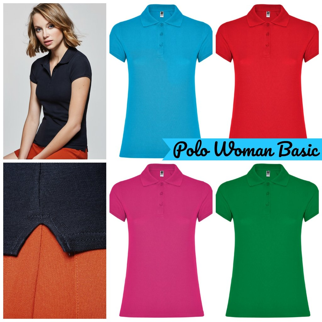 Polo m/c Woman Basic