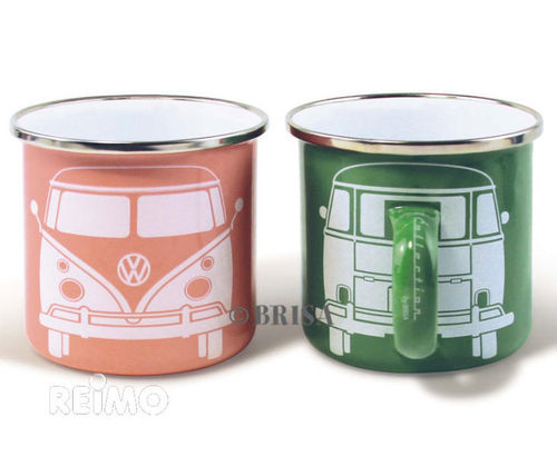 Taza VW GREEN-PINK Pack 2 Unid