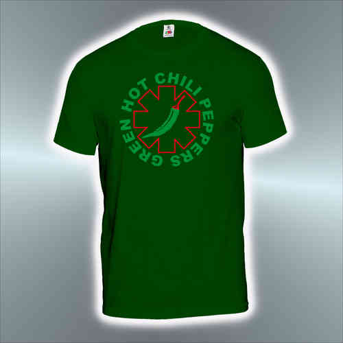 Green Hot Chilli Peppers